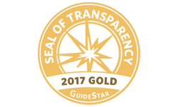 GuideStar Seal of Transparency Gold